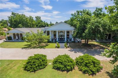 Oklahoma City OK Single Family Home For Sale: $1,900,000