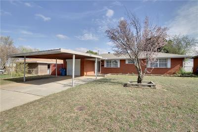 Midwest City Single Family Home Sold: 868 E Steed Drive