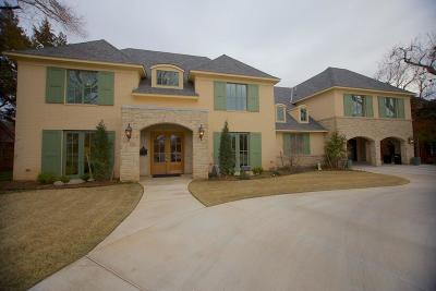 Nichols Hills OK Single Family Home For Sale: $2,290,000