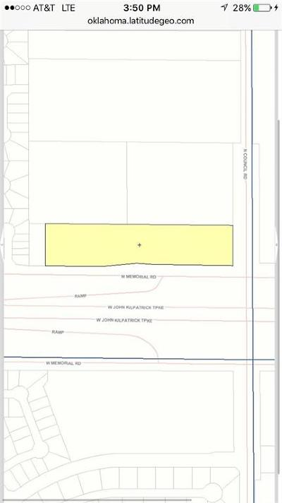 Oklahoma City Residential Lots & Land For Sale: Merorial Rd