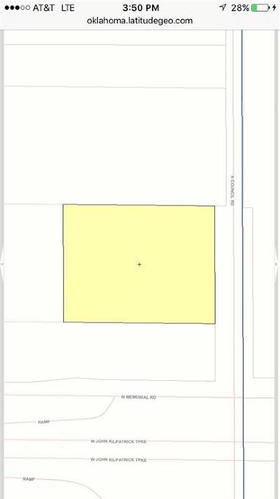 Oklahoma City Residential Lots & Land For Sale: N Council Rd