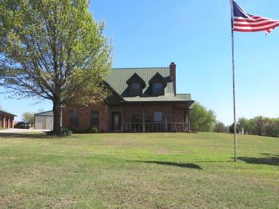 Chickasha Single Family Home For Sale: 1691 State Hwy 62
