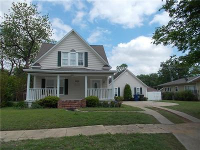 Chickasha Single Family Home For Sale: 921 S 8th