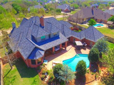 Edmond Single Family Home For Sale: 18717 Wolf Creek Drive