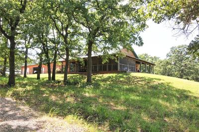 Wellston Single Family Home For Sale: 336834 E 950 Road