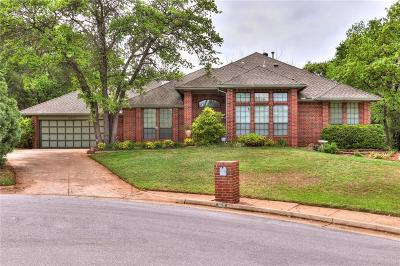 Edmond Single Family Home For Sale: 1813 Tahlequah Drive
