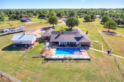 Choctaw Single Family Home For Sale: 502 Meadow Lane
