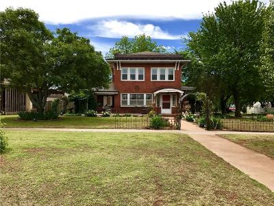 Purcell Single Family Home For Sale: 628 W Main Street