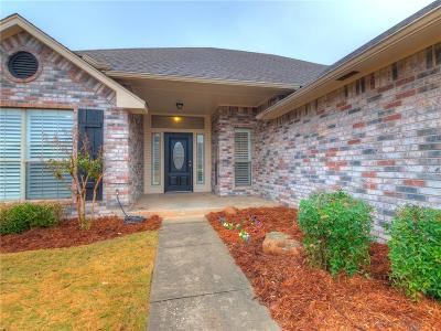 Edmond Single Family Home For Sale: 1721 Del Simmons Drive