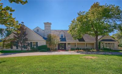 Nichols Hills OK Single Family Home For Sale: $1,595,000