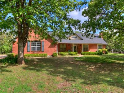 Harrah Single Family Home For Sale: 18791 Hickory Hollow Drive