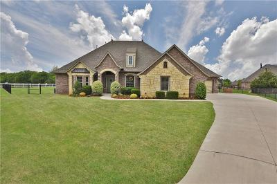 Edmond Single Family Home For Sale: 1611 Savona Lane