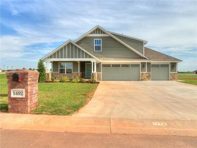 Edmond Single Family Home For Sale: 1492 Lookout Circle