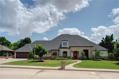 Edmond Single Family Home For Sale: 420 Country Club Terrace