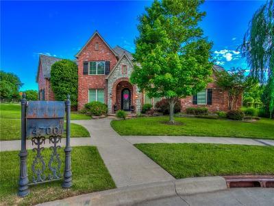 Norman Single Family Home For Sale: 4700 Flint Ridge Circle