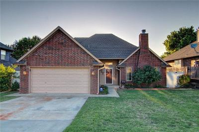 Midwest City OK Single Family Home For Sale: $161,000