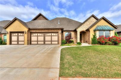Edmond Single Family Home For Sale: 17409 Melville Lane