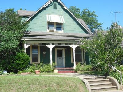 Chickasha Single Family Home For Sale: 726 S 7th Street