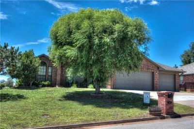 Purcell Single Family Home For Sale: 1102 Parkview