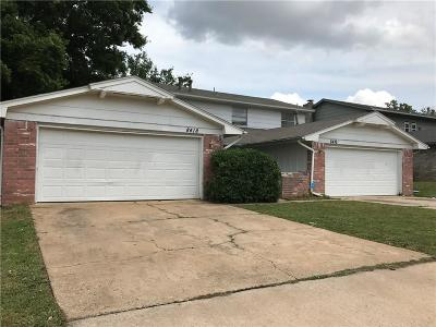 Oklahoma City Multi Family Home For Sale: 8416 Candlewood Drive