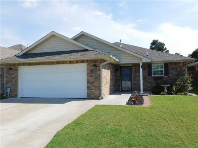 Harrah Single Family Home For Sale: 20634 Autumn Trl