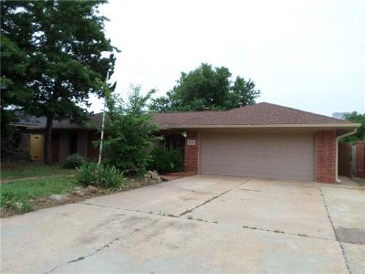 Yukon OK Single Family Home For Sale: $128,700