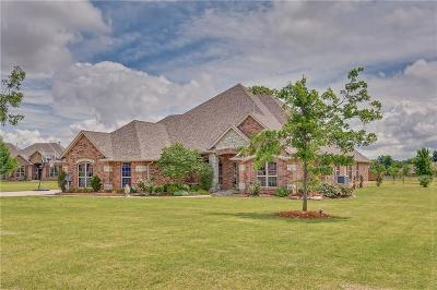 Mustang Single Family Home For Sale: 5516 Hidden Fawn Circle
