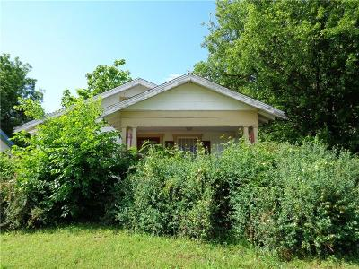 Chickasha Single Family Home For Sale: 1219 W Choctaw