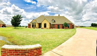 Edmond Single Family Home For Sale: 17600 Old Pond Road