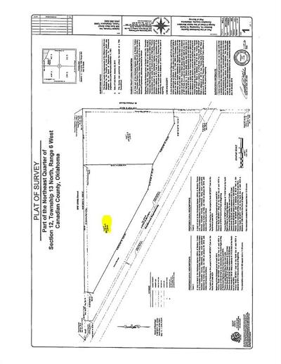 Piedmont OK Residential Lots & Land For Sale: $200,000