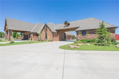 Oklahoma City Single Family Home For Sale: 14400 Thornhill Drive