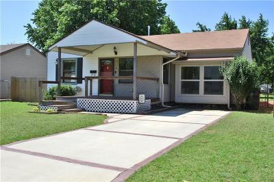 Midwest City Single Family Home Sold: 304 E Jarman Drive