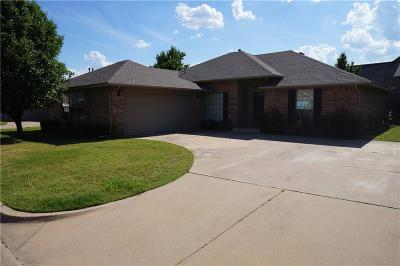 Oklahoma City Single Family Home For Sale: 12401 Crystal Gardens Drive
