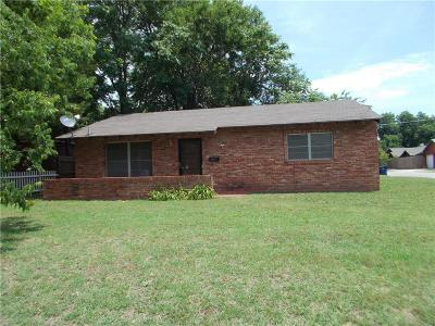 Chickasha Single Family Home For Sale: 1527 S 17 Th