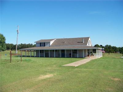 Stroud Single Family Home For Sale: 350659 E 860 Road