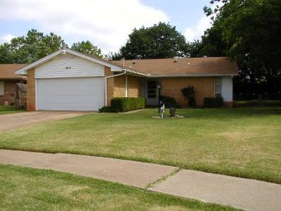 Del City Single Family Home For Sale: 3813 Chetwood