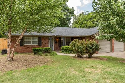Bethany Single Family Home For Sale: 3801 N Bryan Avenue