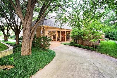 Single Family Home For Sale: 4101 Oakdale Forest Road
