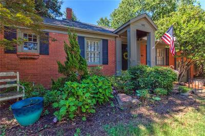 Oklahoma City Single Family Home For Sale: 532 NW 37th Street