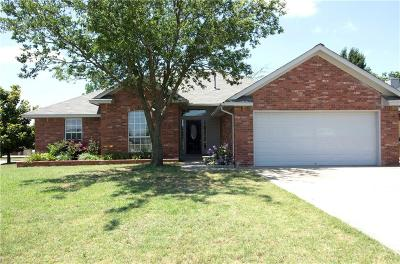 Harrah OK Single Family Home For Sale: $174,900