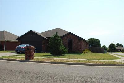 Moore Single Family Home For Sale: 2416 Port Rush Drive