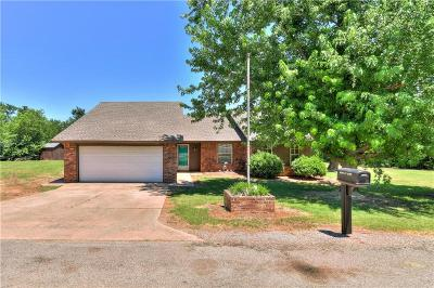 Blanchard OK Single Family Home For Sale: $147,900