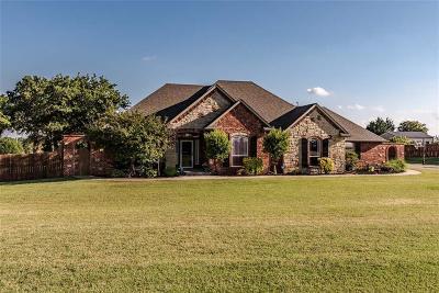 Blanchard Single Family Home For Sale: 1122 Songbird Lane