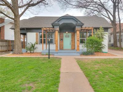 Oklahoma City Single Family Home For Sale: 2036 NW 19th Street
