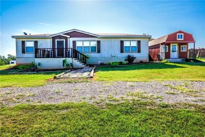 Blanchard OK Single Family Home For Sale: $126,000