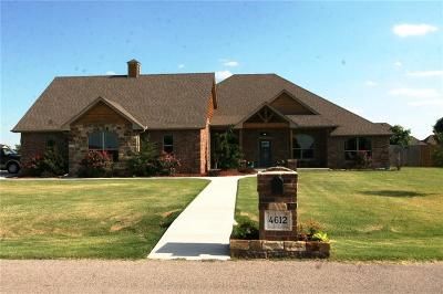 Tuttle Single Family Home For Sale: 4612 Pikeys Trail