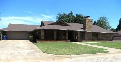 Chickasha Single Family Home For Sale: 101 Caulder Dr.
