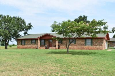 Chickasha Single Family Home For Sale: 2292 County Steet 2860