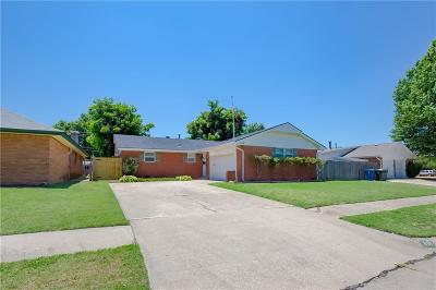 Midwest City Single Family Home For Sale: 816 Fairlane Drive