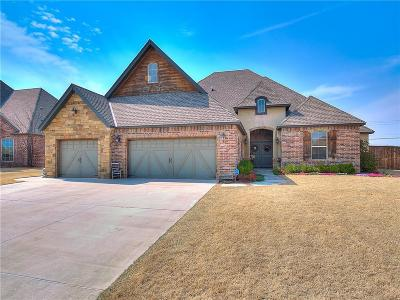 Mustang Single Family Home For Sale: 3509 Walden Estates Dr.